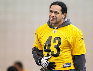 NFL Troy Polamalu (Foto: Reuters)