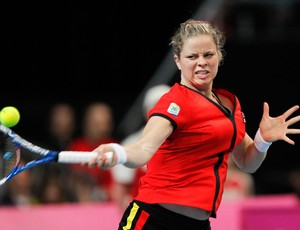 Kim Clijsters x Bethanie Mattek-Sands  Fed Cup World tênis (Foto: Agência Reuters)