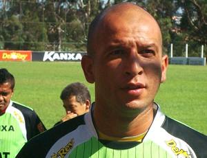 fabio junior, técnico do América-MG (Foto: Fernando Martins/Globoesporte.com)