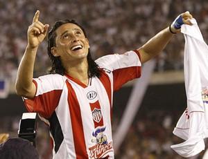 Junior Barranquilla   Giovanni Hernandez guia da libertadores (Foto: Reprodução)
