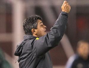 Ney Franco na derrota do Brasil para a Argentina (Foto: Mowa Press)