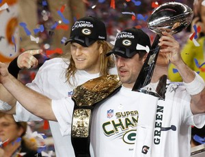 NFL Aaron Rodgers Troféu (Foto: Reuters)