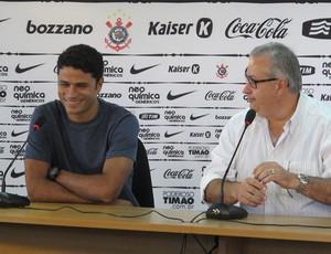 William Machado ,novo gerente de futebol   Corinthians (Foto: Carlos Augusto Ferrari/Globoesporte.com)