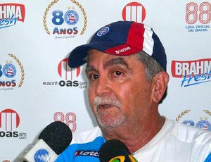 Chiquinho de Assis, auxiliar tcnico do Bahia (Foto: Divulgao / Site Oficial do Bahia)