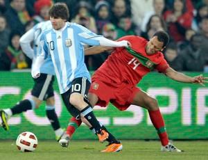 messi rolando argentina x portugal (Foto: EFE)
