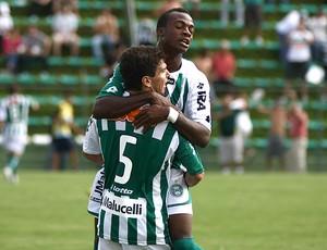 Geraldo Leandro Donizete gol Coritiba (Foto: Ag. Estado)
