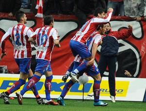 david barral Sporting Gijon x Barcelona (Foto: Reuters)