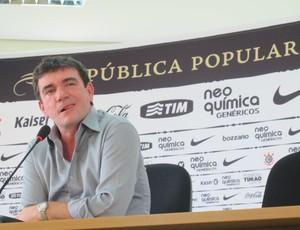Andrés Sanches Coletiva (Foto: Leandro Canônico/GLOBOESPORTE.COM)