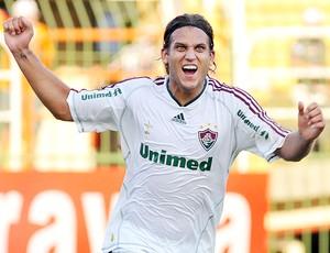Rafael Moura gol Fluminense (Foto: Photocamera)