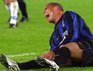Ronaldo Lesão Inter de Milão (Foto: Reprodução)