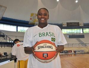 seleção basquete feminino,thamara (Foto: João Gabriel Rodrigues/Globoesporte.com)