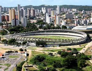estádio Machadão (Foto: GLOBOESPORTE.COM)