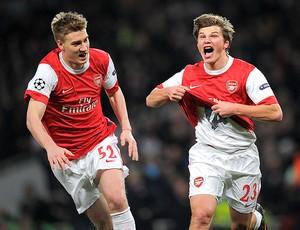 Arshavin gol Arsenal (Foto: AFP)