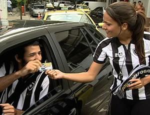 blitz botafogo (Foto: Reprodução/TV Globo)