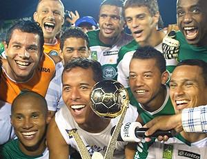troféu Coritiba (Foto: Ag. Estado)