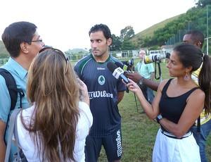 Frontini treino Boavista (Foto: Marcelo Baltar / Globoesporte.com)