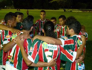time do Baraúnas reunido (Foto: Carlos Guerra Júnior / Divulgação)