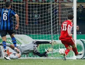 Julio Cesar Inter Milão (Foto: AP)