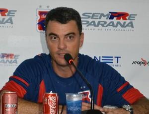 Ricardo Pinto, técnico do Paraná Clube (Foto: Jairton Conceição (RPC TV))