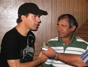 Túlio Maravilh fãs (Foto: Diego Ribeiro/Globoesporte.com)