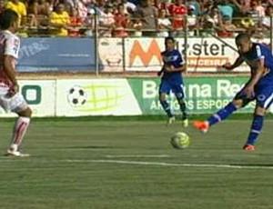 América-TO x Cruzeiro (Foto: Reprodução)