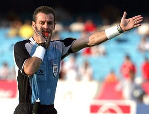 Edilson Pereira de Carvalho árbitro (Foto: Ag. Estado)
