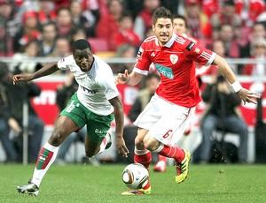 DjalmaMaritimo Javi Garcia Benfica (Foto: EFE)