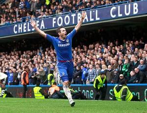 Lampard chelsea x manchester united (Foto: Agência Reuters)