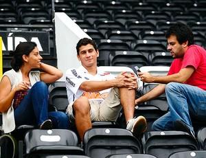 Paulo Henrique Ganso entrevista Santos (Foto: Marcos Ribolli / Globoesporte.com)