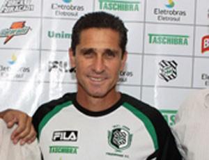 Jorginho Figueirense (Foto: Divulgação / site oficial)