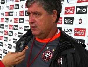 Geninho, do Atlético-PR (Foto: Fernando Freire - RPC TV)
