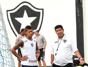 joel santana antonio carlos botafogo (Foto: Cezar Loureiro/Globo)