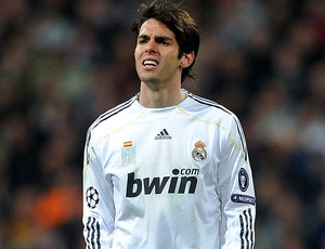 kaká real madrid volta a sentir dor (Foto: agência Getty Images)