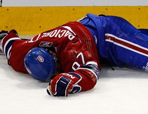 hóquei Max Pacioretty Montreal Canadiens Boston Bruins (Foto: agência Reuters)