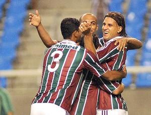 rafael moura gol fluminense x américa (Foto: Wallace Teixeira/ Photocamera)