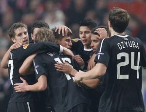 Ex-colorado Alex marca um golaço na vitória do Spartak sobre o Ajax (AP)