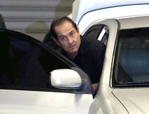Muricy Ramalho saída Engenhão (Foto: Ivo Gonzalez / Agência O Globo)