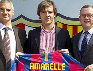 Barcelona quer fazer história também no futebol de areia (Divulgação)