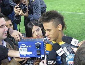 neymar  santos (Foto: Adilson Barros/Globoesporte.com)