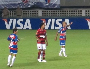 Fortaleza x Flamengo (Foto: Richard Fausto de Souza / Globoesporte.com)