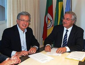 grêmio contrato globo (Foto: Divulgação/Site Oficial Grêmio)
