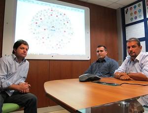 análise do Botafogo de tempo real  (Foto: Gustavo Rotstein / GLOBOESPORTE.COM)