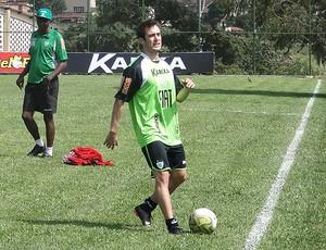 Netinho América-MG (Foto: Lucas Catta Prêta / Globoesporte.com)