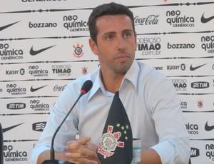 Edu Gaspar Corinthians (Foto: Leandro Canônico / Globoesporte.com)
