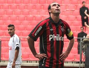 paulo baier  atlético paranaense x operário (Foto: Agência Estado)
