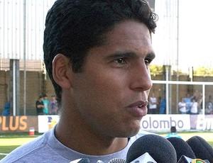 Willian Magrão grêmio (Foto: Eduardo Cecconi/Globoesporte.com)