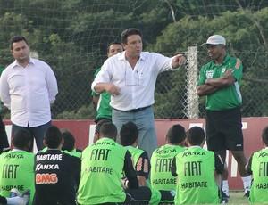 Marcus Salum América-MG (Foto: Fernando Martins / Globoesporte.com)