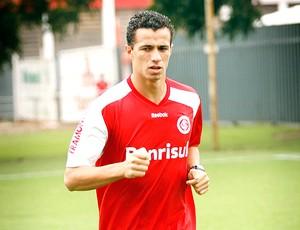 Leandro Damião treino Internacional (Foto: Edu Rickes / Globoesporte.com)