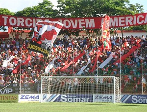 torcida do América-TO (Foto: Boy Fotógrafo)
