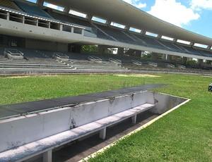 estádio Machadão  (Foto: Fred Huber / GLOBOESPORTE.COM)